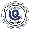 Certifikační značka VÚPS - ISO 9001